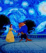 Beauty and the Beast with a bit of   Van Gogh... OMG I die