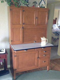 hoosier style napanee dutch kitchenette baking station w flour mill