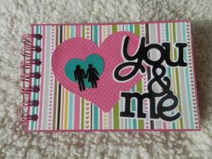 6x6 Love Scrapbook by SimplyMemories on Etsy.  Great Valentines Gift