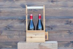 Two Bottle Wine Carrier by Meriwether | Meriwether of Montana