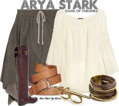 Inspired by Game of Thrones character Arya Stark played by Maisie Williams.