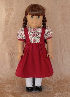 American Girl 18 inch doll clothes Winter by Calyxadollcreations