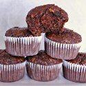 Banana Oatmeal Chocolate Hemp Seed Muffins