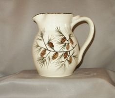 Handmade ceramic creamer Pottery Pitcher by TallPinesPottery, $30.00