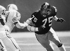 """Mean"" Joe Greene, Pittsburgh Steelers"