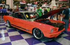 With SEMA 2014 less than 4 weeks away, now seems like a good time to throw back to SEMA 2011, where Ringbrothers stole the show with their Producer Mustang and helped us launch the RB3C Concave wheel (named in their honor). See more at: http://www.forgeline.com/customer_gallery_view.php?cvk=528  #Forgeline #RB3C #centerlock #notjustanotherprettywheel #madeinUSA #Ford #Mustang #Producer #SEMAshow #TBT