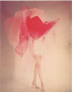 Erwin Blumenfeld pastel, red, color, erwin blumenfeld, art, inspir, fashion photographi, pink, photography