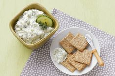 Fresh Cucumber-Lemon Dip recipe