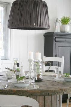 dining room white
