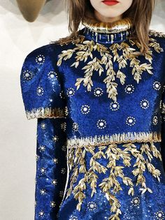 #chanel #embellishment #couture #details #beading