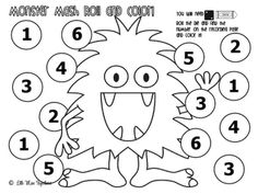 Free Four Roll and Color Dice Games!