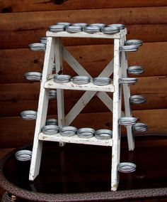 Rustic Cupcake Stand Holder Country Wedding Etsy by Rusticcreek, $71.00@Amanda Graley