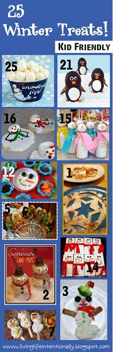 25 winter treats!