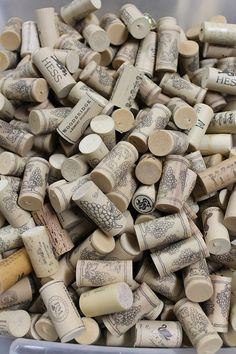 SALE  100 Synthetic Wine Corks  wine cork crafts  by TheWoodenBee, $10.00