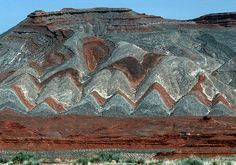 Geology In Utah 1993 (by Gord McKenna) or Something geological happened here...