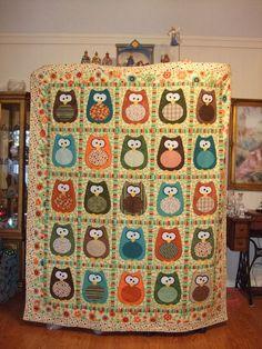 Owl Quilt...Love it!!