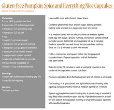 Try A New Treat This Halloween | Royal Caribbean Connect | Gluten-free Pumpkin, Spice and Everything Nice Cupcake Recipe