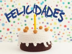 Amigurumi Birthday Cake - FREE Crochet Pattern / Tutorial