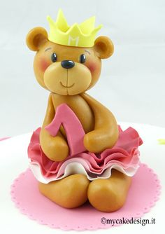 Princess Bear Topper tutorial