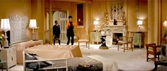 Auntie Mame's Japanese period bedroom.
