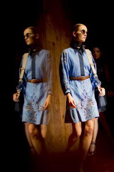 Gucci Women's Spring/Summer 2015 Runway Show