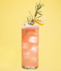 Double R Daiquiri served at PX in Alexandria, Virginia. Owner/bartender Todd Thrasher builds on the classic by combining the two rs—rhubarb and rosemary—to create a Daiquiri that blends style with substance.