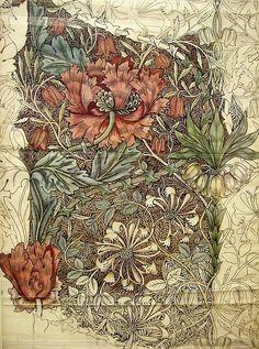 William Morris painting