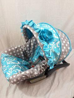 Custom Infant Car Seat Cover on Etsy