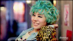 Sunny SNSD I Got a Boy Dance Teaser girls generation, flair, blue hair, wallpapers, shorts, teal, short ahsdkfshl, dance, blues