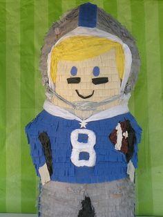football player pinata