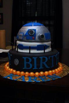 R2-D2 Cake #StarWars