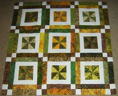 Of course we'd make it bigger!  :) quilting patterns, earthi quilt