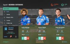 CricLeague - Team Manager's App by Sachin Gawas, via Behance