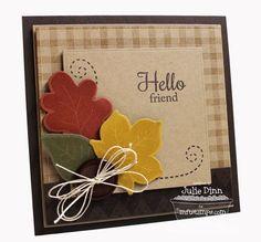 Fall Foliage; Textile Backgrounds; Fall Foliage Die-namics; Blueprints 3 Die-namics; Blueprints 7 Die-namics - Julie Dinn