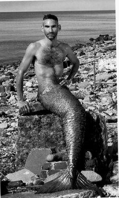 a mermaid?? you're no longer my son!!!..... merMAN dad!!!.... merMAN