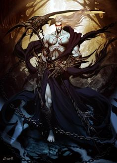 Hades by *GENZOMAN on deviantART