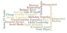 Julie's Resume revisited; Cool Resumes on Pinterest