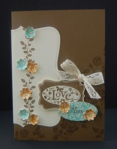 top note and borderline - Stampin Up