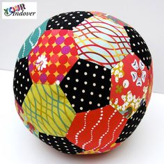 Congratulations to Lynne Goldsworthy, this week's winner of the Your Andover contest! She made this fun and colorful ball using Alison Glass's Lucky Penny collection.