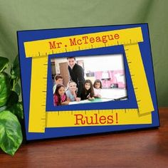 Teacher Frames and Gifts perfect for End of Year.  25.00