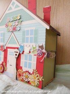 Cute paper house