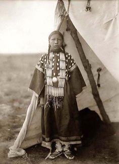 Dakota Sioux Girl
