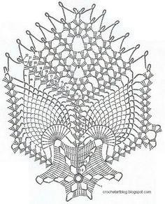 Crochet Art: Free Crochet Doily Pattern - TableCloth