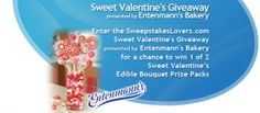 Enter the SweepstakesLovers.com Sweet Valentine's Giveaway presented by Entenmann's for a chance to win 1 of 2 Sweet Valentine's Edible Bouquet Prize Packs !