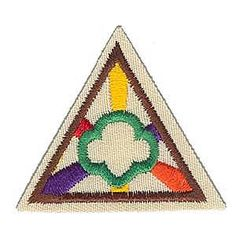 How to Earn the Girl Scout Ways Try It Patch by Making a Sit Upon