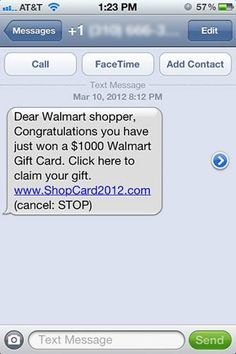 A New Kind of Scam!
