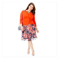 MACY'S PLUS SIZE SPRING 2014 TREND REPORT: SECRET GARDEN fantasy and fashion fuse with blooming styles.