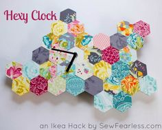 Hexy Clock [An Ikea Hack Tutorial]- Terrific project with Phoomph