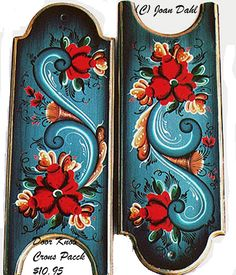 "Door Knob Crown *FREE S\H*  [PPDKC] $10.95           Click to enlarge      Design Fits: 4"" (10 cm.) x 11"" (28 cm.)          Pattern Packets     by Joan Dahl:     The following is what you will receive in all Pattern Packets:   • Detailed and easy to follow Step-by-Step Instructions   • 8"" x 11"" Color Pictures of the Finished Art Projects   • Practice Stroke Sheet   • When a design calls for lettering work, an alphabet will be included  with the packet.     Click On -> www.rosemal.com"
