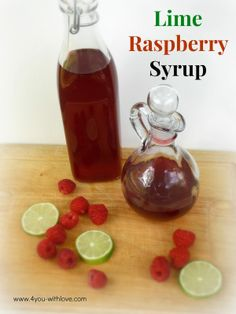 make your own berry syrup